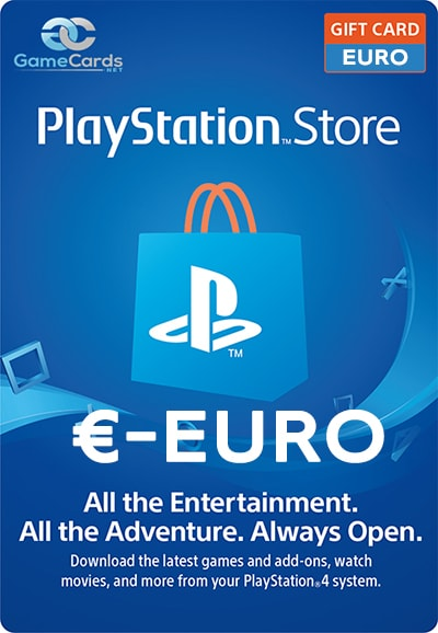 PlayStation Store Gift Card Euro