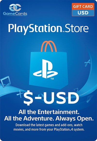 PlayStation Store Gift Card usd