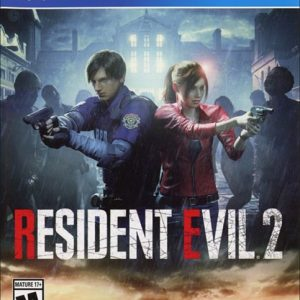 The Resident Evil 2 Ps4