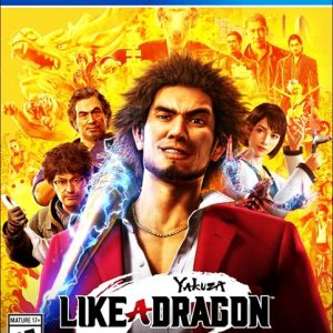 Yakuza Like a Dragon Ps4