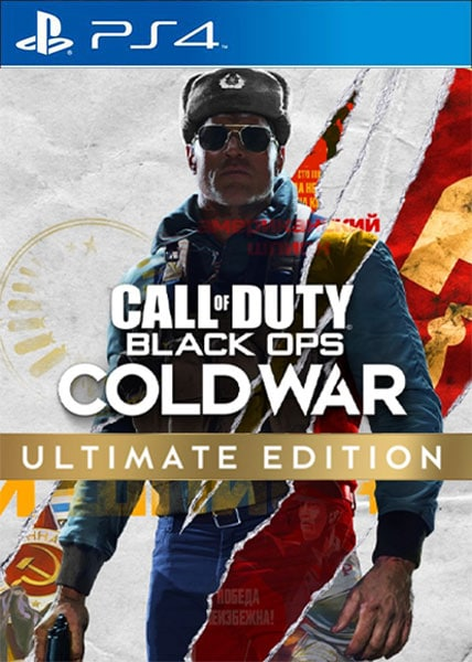 Call of Duty: Black Ops Cold War - Ultimate Edition Ps4