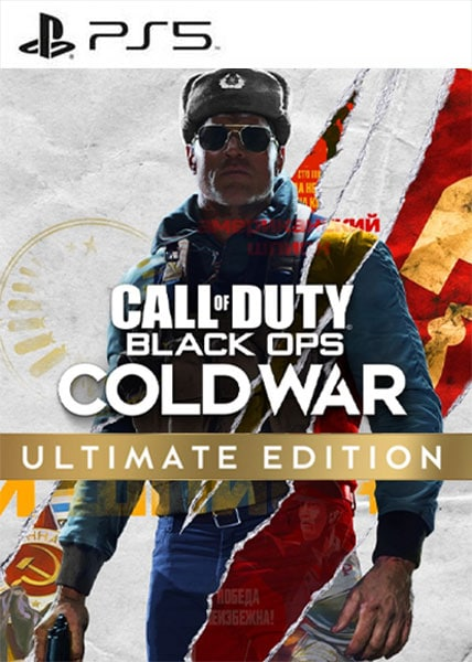 Call of Duty: Black Ops Cold War - Ultimate Edition Ps5